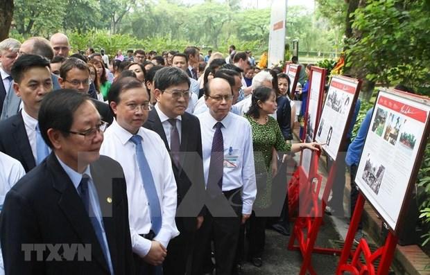 Exhiben en Vietnam archivos nacionales e internacionales sobre el Presidente Ho Chi Minh hinh anh 1