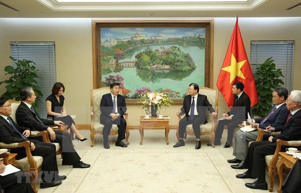 Dirigente vietnamita reitera disposicion de impulsar lazos con provincia china de Guangdong hinh anh 1