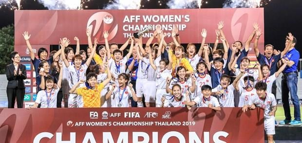 Felicita primer ministro vietnamita a seleccion femenina de futbol por ganar campeonato sudesteasiatico hinh anh 1