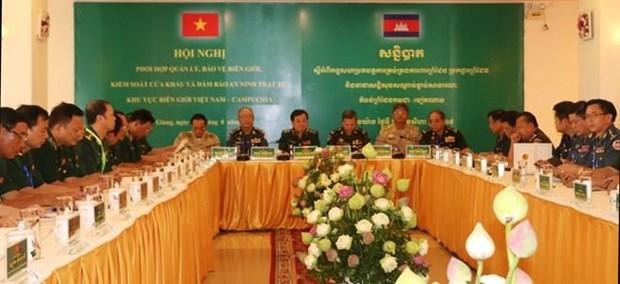 Fortalecen Vietnam y Camboya cooperacion transfronteriza hinh anh 1