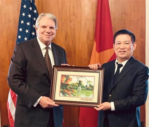 Auditorias de Vietnam y Estados Unidos exploran areas para ampliar lazos bilaterales hinh anh 1