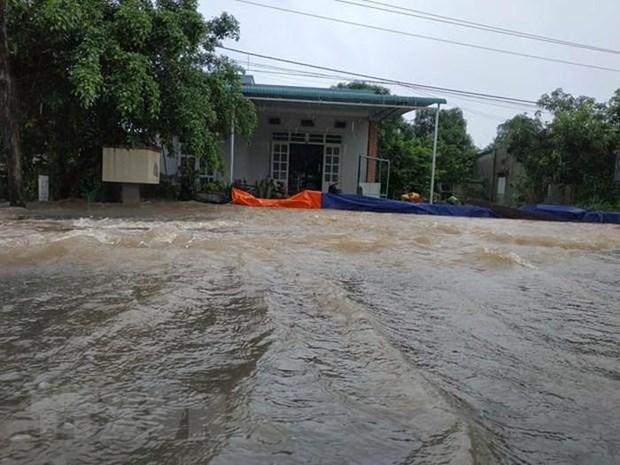 Dona la Union Europea 100 mil euros para victimas de tormentas en Vietnam hinh anh 1