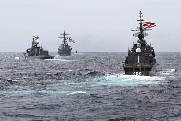 Participara Myanmar en ejercicios navales ASEAN-EE.UU. hinh anh 1