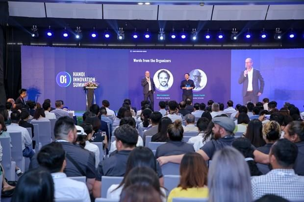 Cumbre de Innovacion Hanoi busca estimular actividades de empresas emprendedoras hinh anh 1