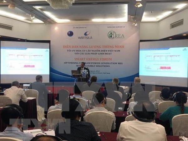 Destacan optimizar estructura de fuentes de energia en Vietnam hinh anh 1