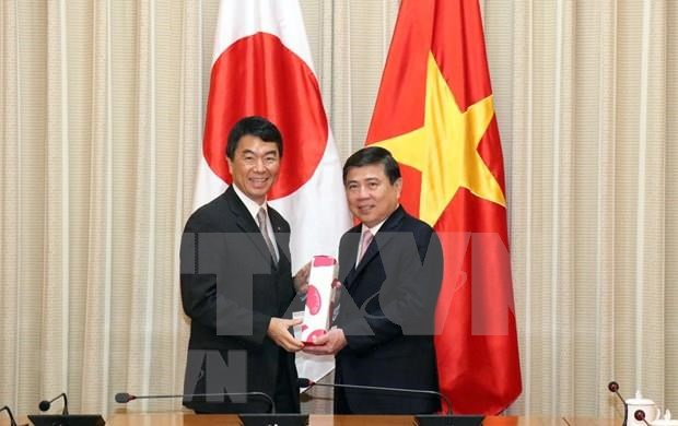 Ciudad Ho Chi Minh fortalece cooperacion con prefectura japonesa de Miyaki hinh anh 1