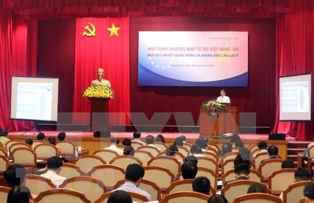 Divulgan en Vietnam contenido del Tratado de Libre Comercio con la UE hinh anh 1