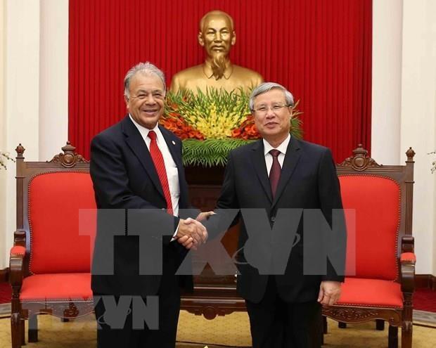 Realzan nexos entre Partido Comunista de Vietnam y Partido del Trabajo de Mexico hinh anh 1