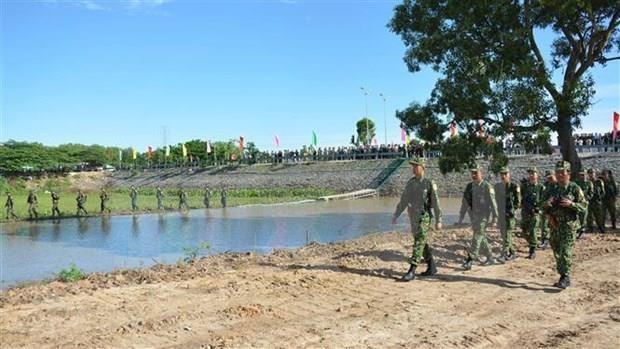 Inauguran Casa Cultural de Amistad Fronteriza Vietnam-Camboya hinh anh 1