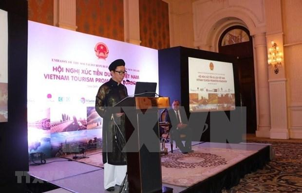 Vietnam y la India estudian oportunidades para impulsar cooperacion en turismo hinh anh 1