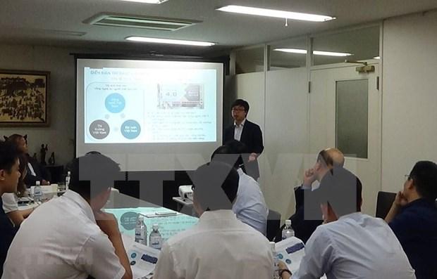 Intelectuales vietnamitas en Japon contribuyen al desarrollo de su Patria hinh anh 1