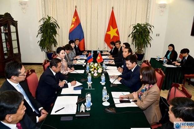 Vietnam y Mongolia realizan octava consulta politica hinh anh 1