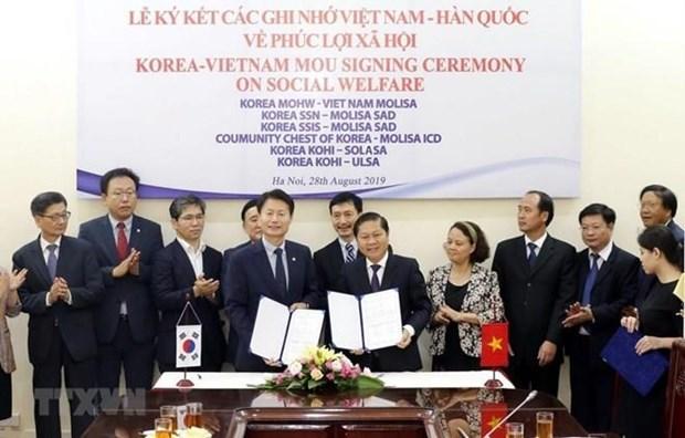 Vietnam y Corea del Sur refuerzan colaboracion en bienestar social hinh anh 1