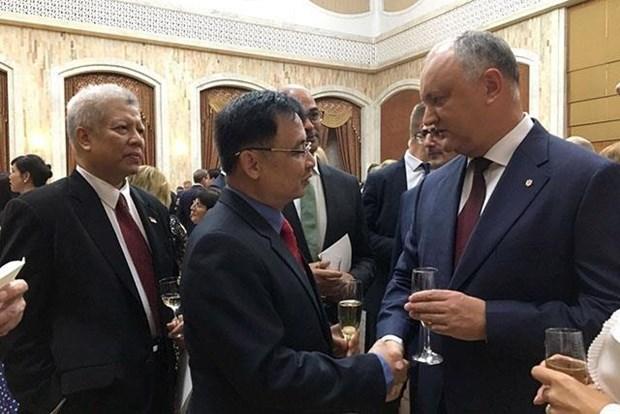 Fortalecen relaciones Vietnam y Moldavia hinh anh 1