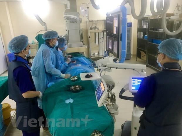 Expertos vietnamitas y extranjeros intercambian experiencias sobre tratamiento de cancer hinh anh 1