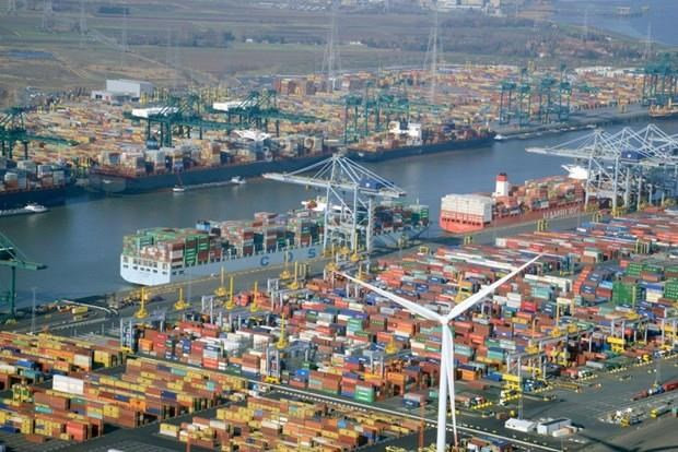 Empresarios de ciudad belga estudian oportunidades para cooperacion comercial con Vietnam hinh anh 1