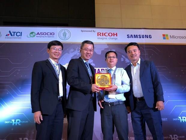 Recibe Da Nang el premio Ciudad Inteligente 2019 hinh anh 1