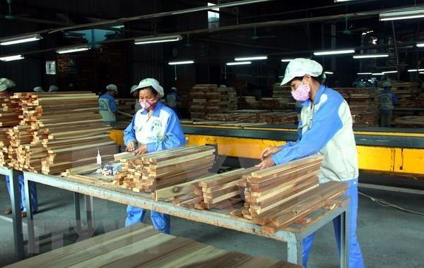 Aumenta Vietnam exportacion de productos forestales en agosto de 2019 hinh anh 1