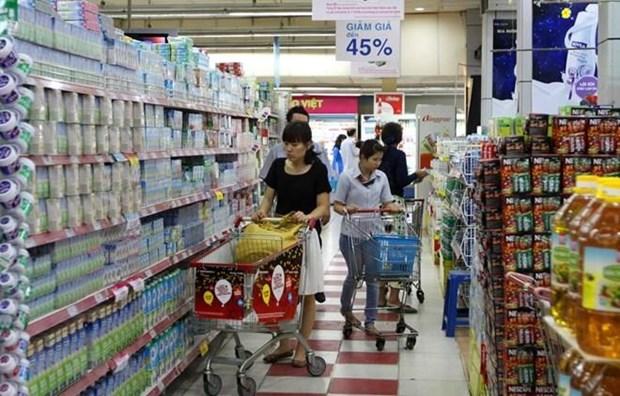 Reportan leve aumento del indice de precios de Vietnam en agosto hinh anh 1