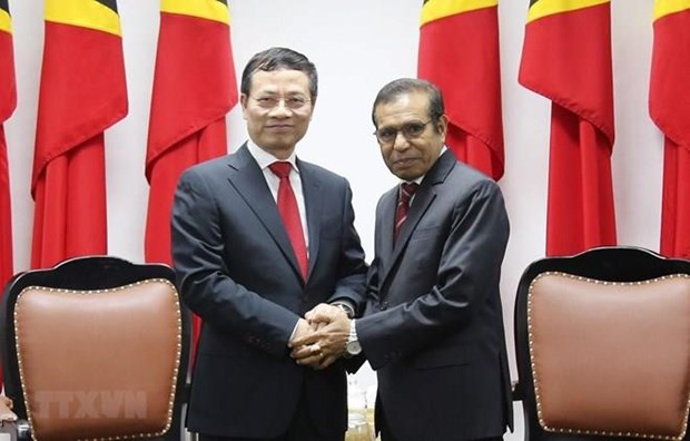 Promueven Vietnam y Timor Oriental ampliacion de sus relaciones multifaceticas hinh anh 1