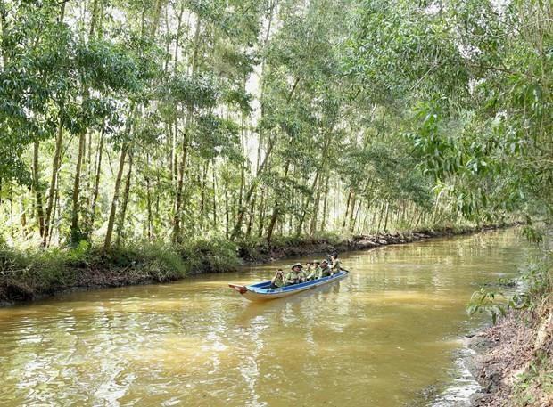 Intercambian Vietnam y Taiwan conocimientos sobre cambio climatico en Delta de Mekong hinh anh 1