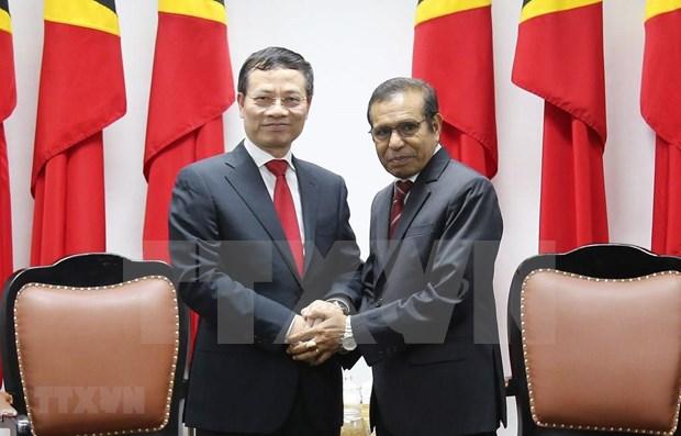 Enviado especial del premier vietnamita asiste al aniversario del referendum de Timor Oriental hinh anh 1