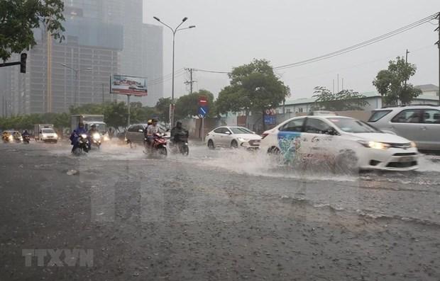 Ciudad Ho Chi Minh estudia plan de inversion para controlar inundaciones hinh anh 1