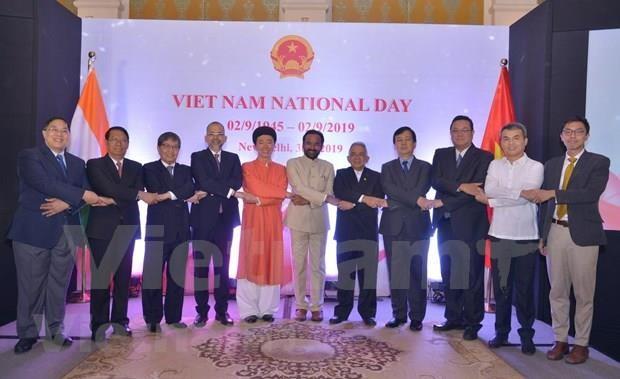 Reafirman papel de Vietnam como socio importante de la India hinh anh 1