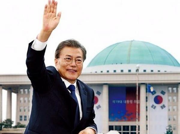Presidente surcoreano inicia gira por paises sudesteasiaticos hinh anh 1