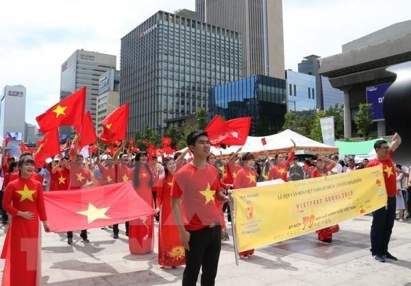 Celebran en Corea del Sur Festival de Cultura de Vietnam hinh anh 1
