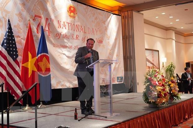 Celebran Dia Nacional de Vietnam en Estados Unidos y Canada hinh anh 1