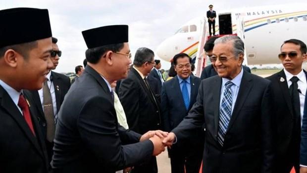 Primer ministro de Malasia realiza visita oficial a Camboya hinh anh 1