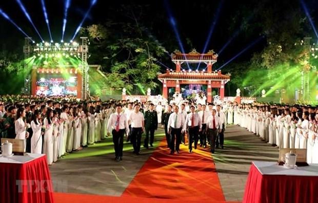 Programa televisivo en vivo marca medio siglo de cumplimiento de Testamento de Ho Chi Minh hinh anh 1