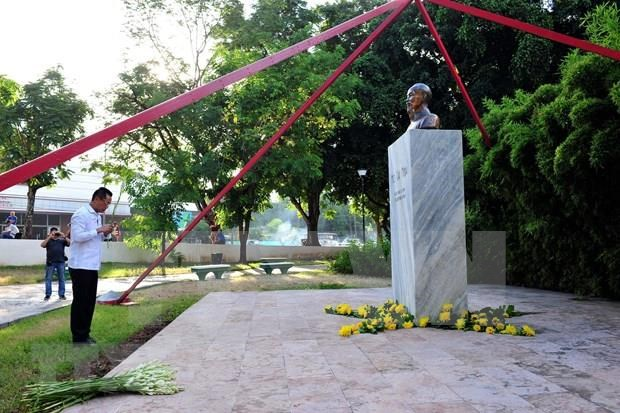 Vietnamitas en Cuba conmemoran 50 anos de implementacion de Testamento de Ho Chi Minh hinh anh 1
