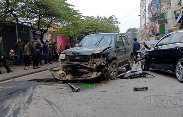 Registra Vietnam 57 muertos por accidentes de transito durante dias feriados hinh anh 1