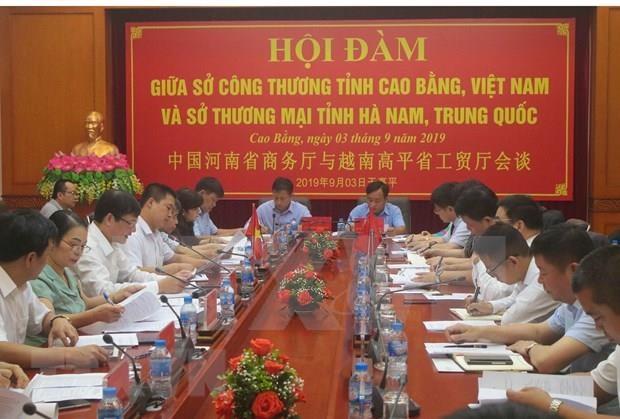 Provincia de Vietnam y China apuestan por estrechar lazos comerciales hinh anh 1