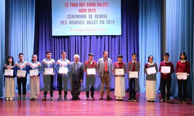 Otorgan becas Vallet por casi 90 mil de dolares a estudiantes destacados vietnamitas hinh anh 1