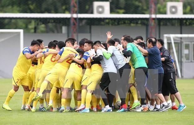 Exhorta premier vietnamita a futbolistas a lograr mejor actuacion en torneo regional hinh anh 1