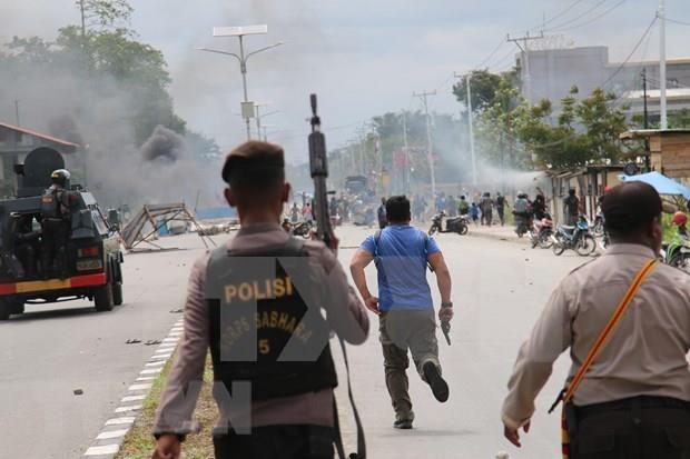 Investiga Indonesia presunta intervencion extranjera en protestas violentas en Papua hinh anh 1