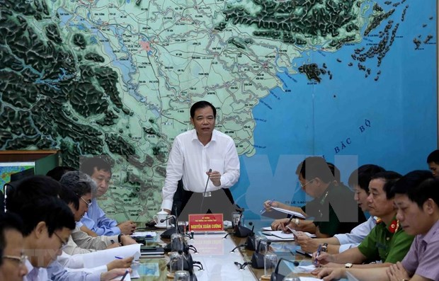 Urgen en Vietnam a tomar medidas para actuar ante fenomenos naturales de la actual temporada hinh anh 1