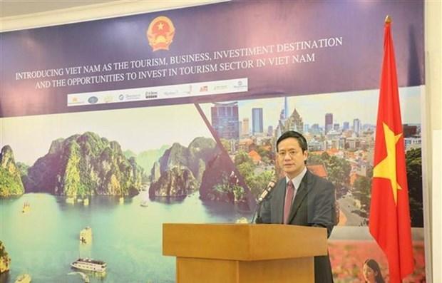 Promueven en Indonesia a Vietnam como destino turistico y de inversiones hinh anh 1