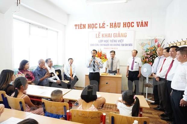 Ofrecen clases gratuitas de ensenanza del idioma vietnamita en Republica Checa hinh anh 1