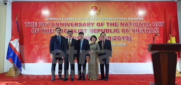 Agradece Camboya apoyo de Vietnam en construccion y salvaguarda nacional hinh anh 1