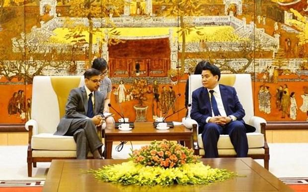 Reafirma Hanoi disposicion de respaldar a inversores indios hinh anh 1