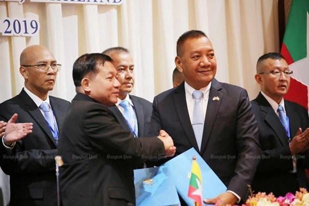 Intensifican Tailandia y Myanmar cooperacion transfronteriza hinh anh 1