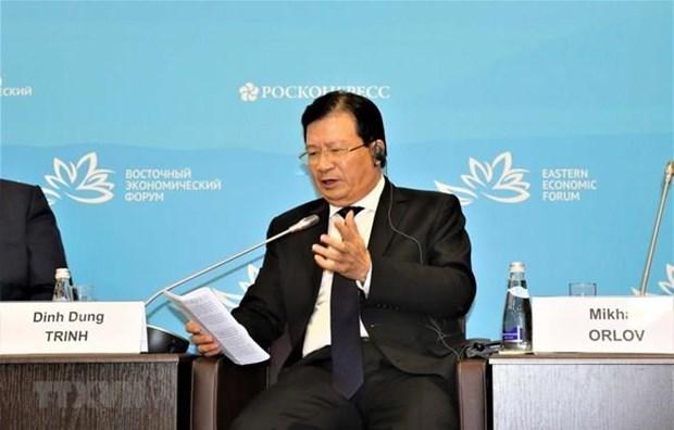Vietnam dispuesto a ser puente de enlace entre ASEAN y UEE, afirma su viceprimer ministro hinh anh 1