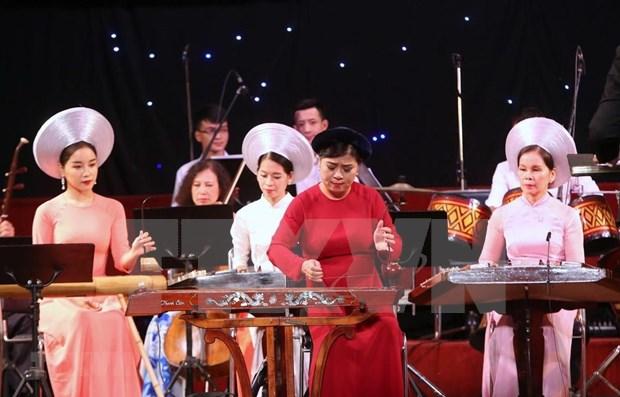 Recuerdan al Presidente Ho Chi Minh en ocasion del Dia de la Musica de Vietnam hinh anh 1