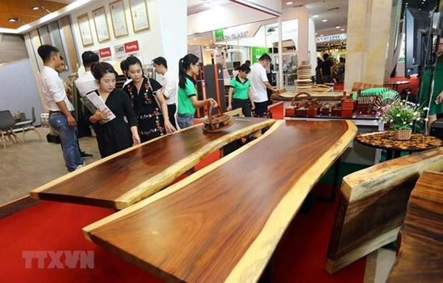 Participan 450 empresas en exposicion del sector de construccion en Hanoi hinh anh 1