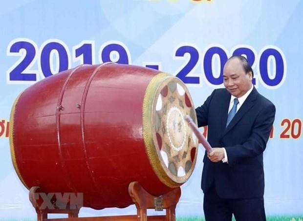 Desea primer ministro de Vietnam feliz comienzo del ano escolar 2019-2020 hinh anh 1