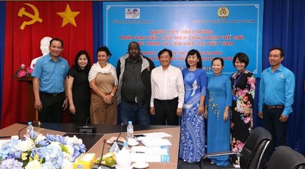 Acogera Vietnam el Congreso de la Federacion Sindical Mundial en 2021 hinh anh 1